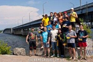 Прыжки на резинке в Днепропетровске