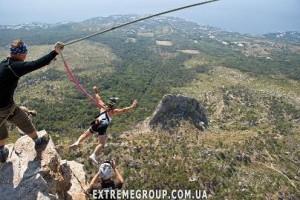 прыжок с сверевкой в Крыму