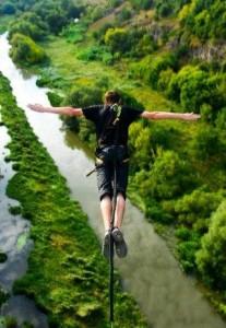 """Прыжки с моста """"Бегущая лань"""""""