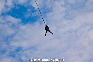 Прыжки со скалы Шаан-Кая в Крыму