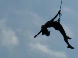 прыжки с моста в Запорожье и Днепропетровске